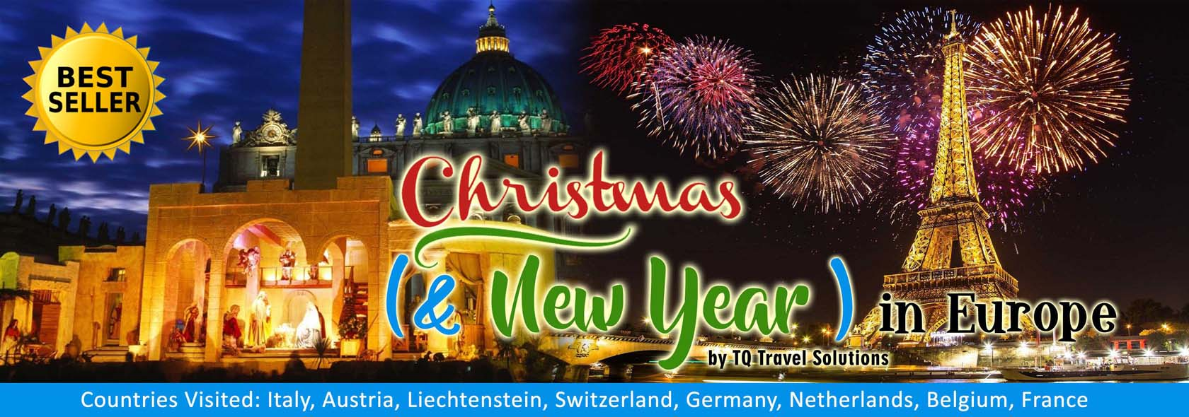 Tq Travel Solutions Christmas And New Year In Europe Tour Package