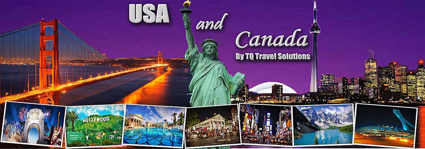 Tq Travel Solutions Usa Tour Packages Canada Tour Packages